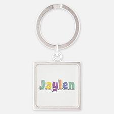 Jaylen Spring14 Square Keychain