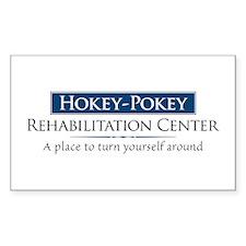 Hokey Pokey Rehab Decal