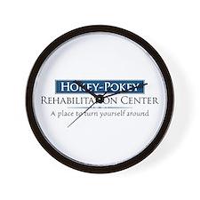 Hokey Pokey Rehab Wall Clock
