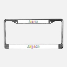 Jayson Spring14 License Plate Frame