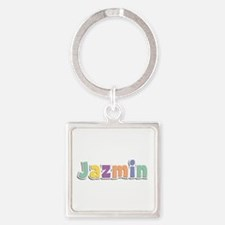 Jazmin Spring14 Square Keychain