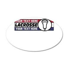 Lacrosse United v05 Custom Wall Decal