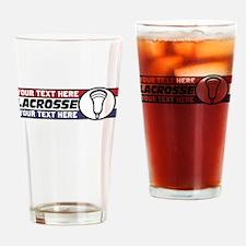 Lacrosse United v05 Custom Drinking Glass