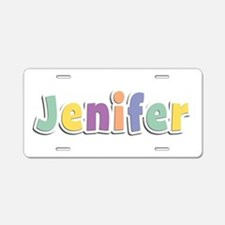 Jenifer Spring14 Aluminum License Plate