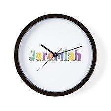 Jeremiah Spring14 Wall Clock