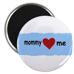 MOMMY LOVES ME Magnet