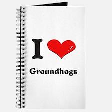 I love groundhogs Journal