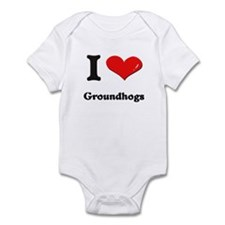 I love groundhogs  Onesie