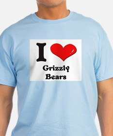I love grizzly bears T-Shirt