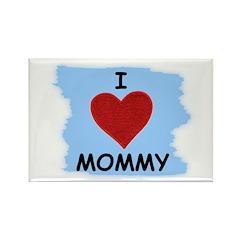 I LOVE MOMMY Rectangle Magnet (10 pack)