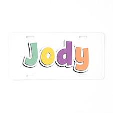 Jody Spring14 Aluminum License Plate