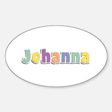 Johanna Spring14 Oval Decal