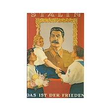 Stalin Rectangle Magnet