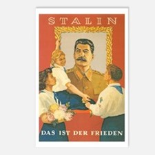 Stalin Is Peace Postcards (Package of 8)