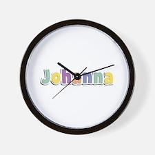 Johanna Spring14 Wall Clock