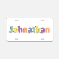 Johnathan Spring14 Aluminum License Plate
