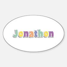 Jonathon Spring14 Oval Decal