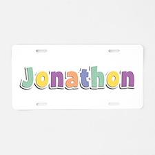 Jonathon Spring14 Aluminum License Plate