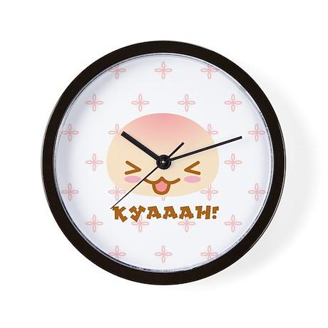 """""""Kyaaah!"""" Wall Clock"""