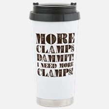 More Clamps Stainless Steel Travel Mug