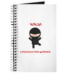 Ninja Construction Worker Journal