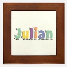 Julian Spring14 Framed Tile