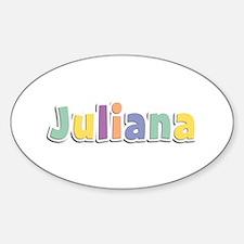 Juliana Spring14 Oval Decal