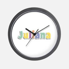 Juliana Spring14 Wall Clock