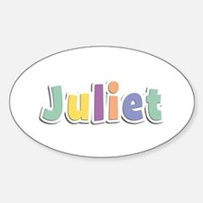 Juliet Spring14 Oval Decal