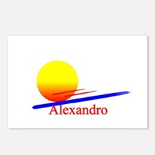 Alexandro Postcards (Package of 8)