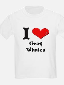 I love gray whales T-Shirt