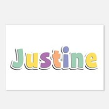 Justine Spring14 Postcards 8 Pack