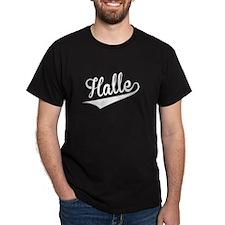 Halle, Retro, T-Shirt