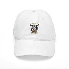 proud native american 1 Baseball Baseball Cap