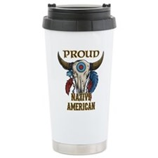 proud native american 1 Travel Mug