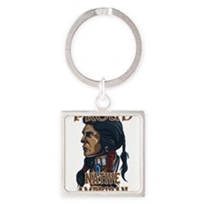 proud native american 3 Keychains