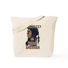 proud native american 3 Tote Bag