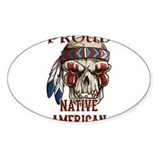 proud native american 4 Decal
