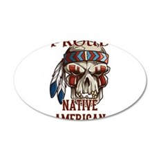 proud native american 4 Wall Decal