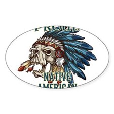 proud native american 5 Decal
