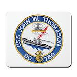 USS JOHN W. THOMASON Mousepad