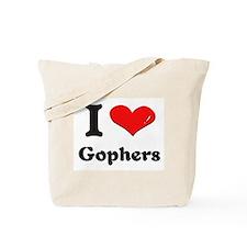 I love gophers Tote Bag