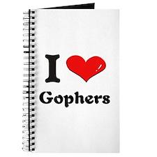 I love gophers Journal
