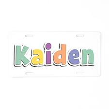 Kaiden Spring14 Aluminum License Plate