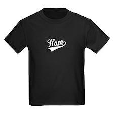 Ham, Retro, T-Shirt