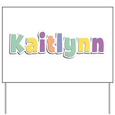 Kaitlynn Spring14 Yard Sign