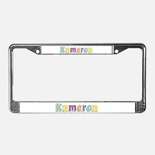 Kameron Spring14 License Plate Frame