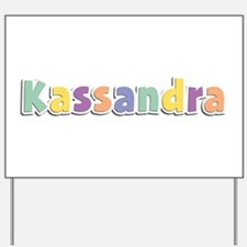 Kassandra Spring14 Yard Sign