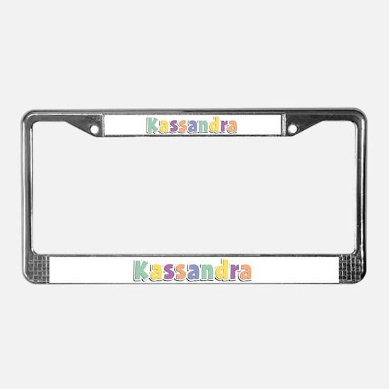 Kassandra Spring14 License Plate Frame