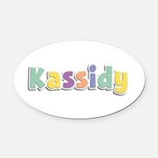 Kassidy Spring14 Oval Car Magnet